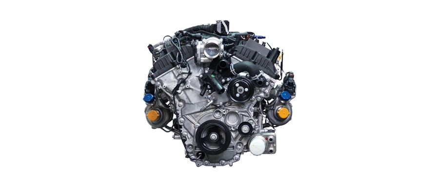 3 point 5 liter high output EcoBoost engine