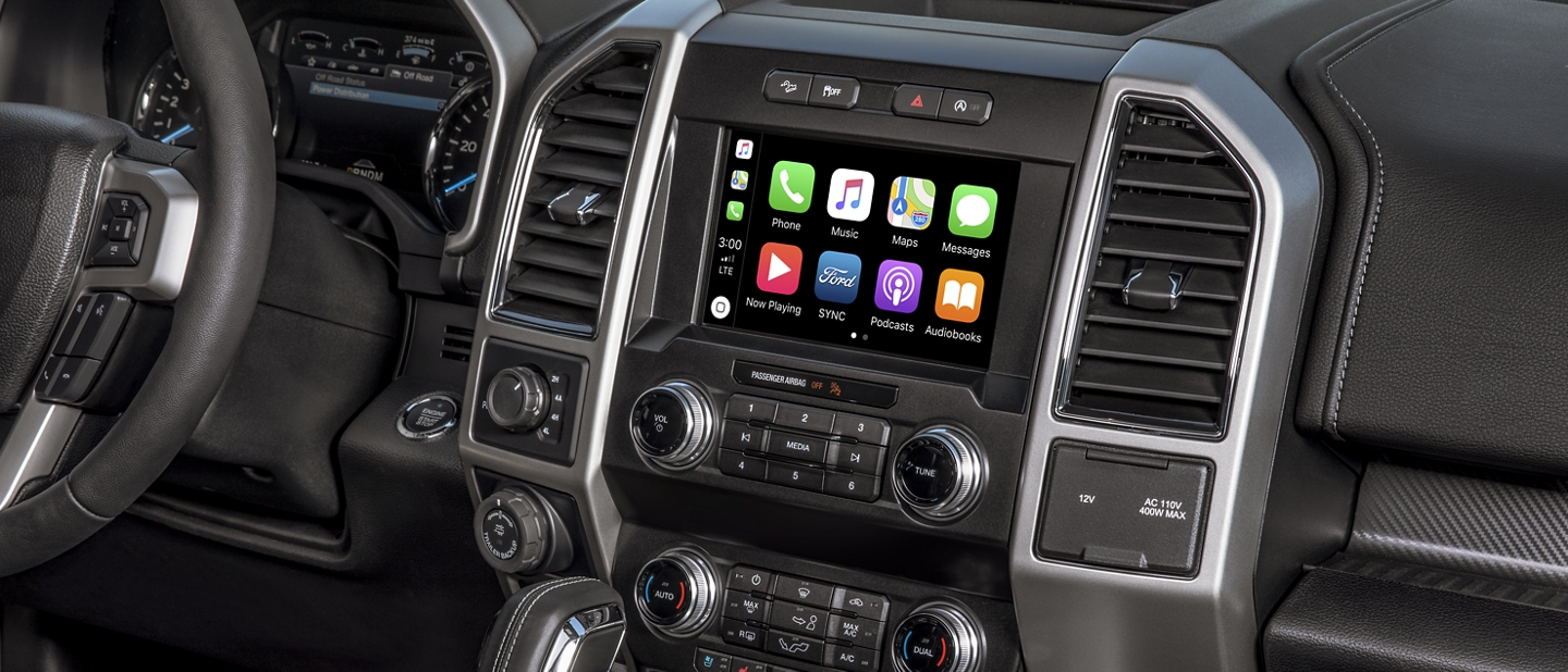 La Ford F 1 50 2020 con Apple Carplay y Android Auto