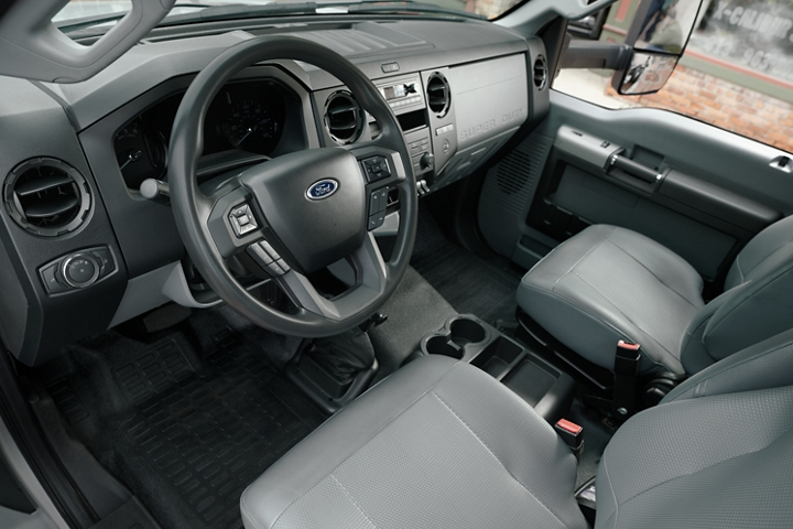 Front Interior of 2020 Ford F 7 50 Regular Cab