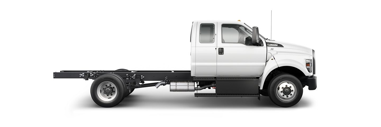 2021 Ford F 6 50 Gas Pro Loader SuperCab in Oxford White