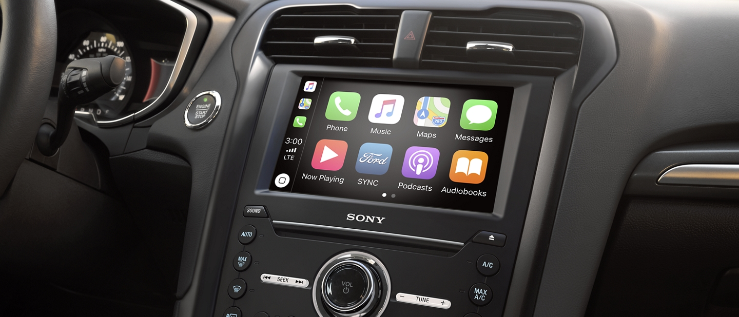 Available apple carplay and android auto compatibility on the touchscreen