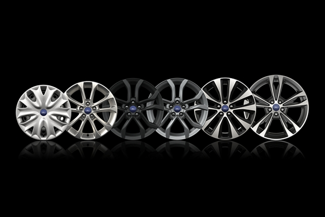 Available wheels on the 2020 Ford Fusion