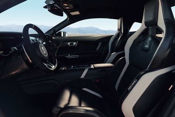 2020 Ford Mustang G T 500 interior