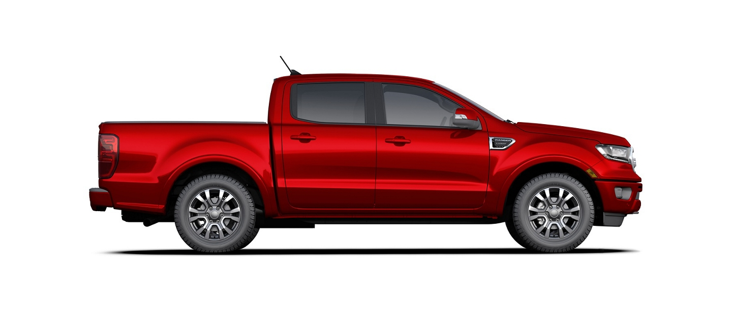 La Ford Ranger 2020 en Rapid Red