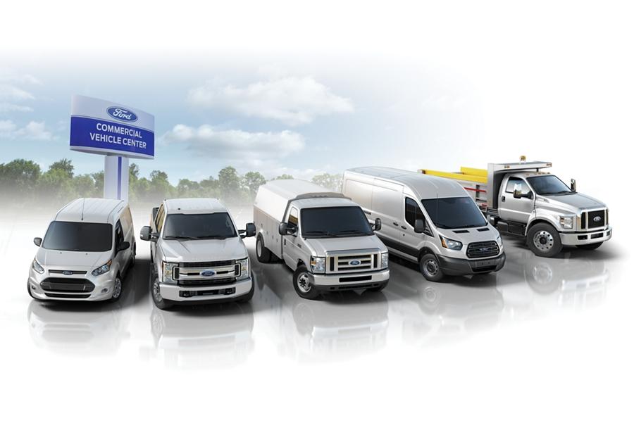 Línea de productos del Centro de Vehículos Comerciales