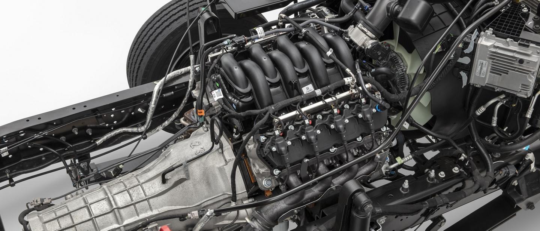 motor V 8 de siete punto tres litros