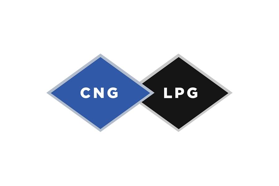 Logos completos para las alternativas gas natural o propano a lagasolina sin plomo