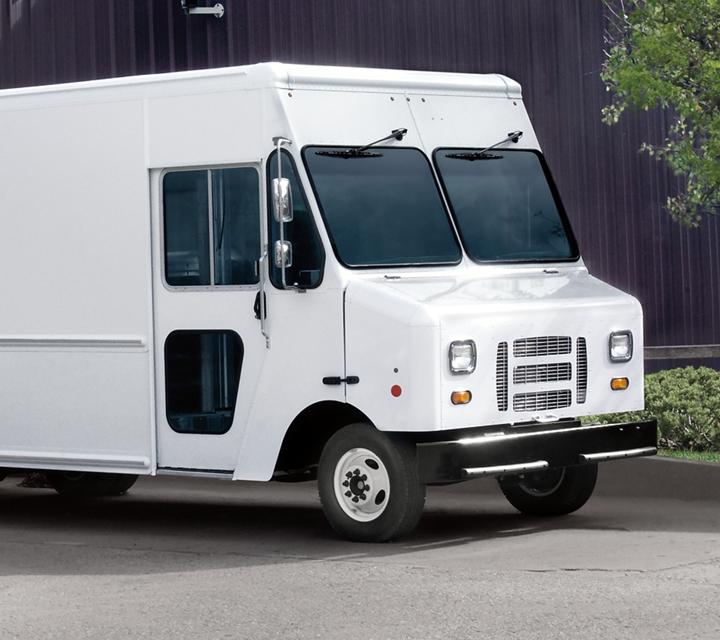 Chasis Desnudo Ford E Serie 2021 con carrocería de van para entregas
