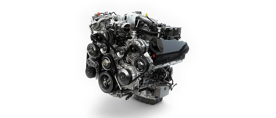 Motor Power Stroke V8 turbodiésel de6.7 litros