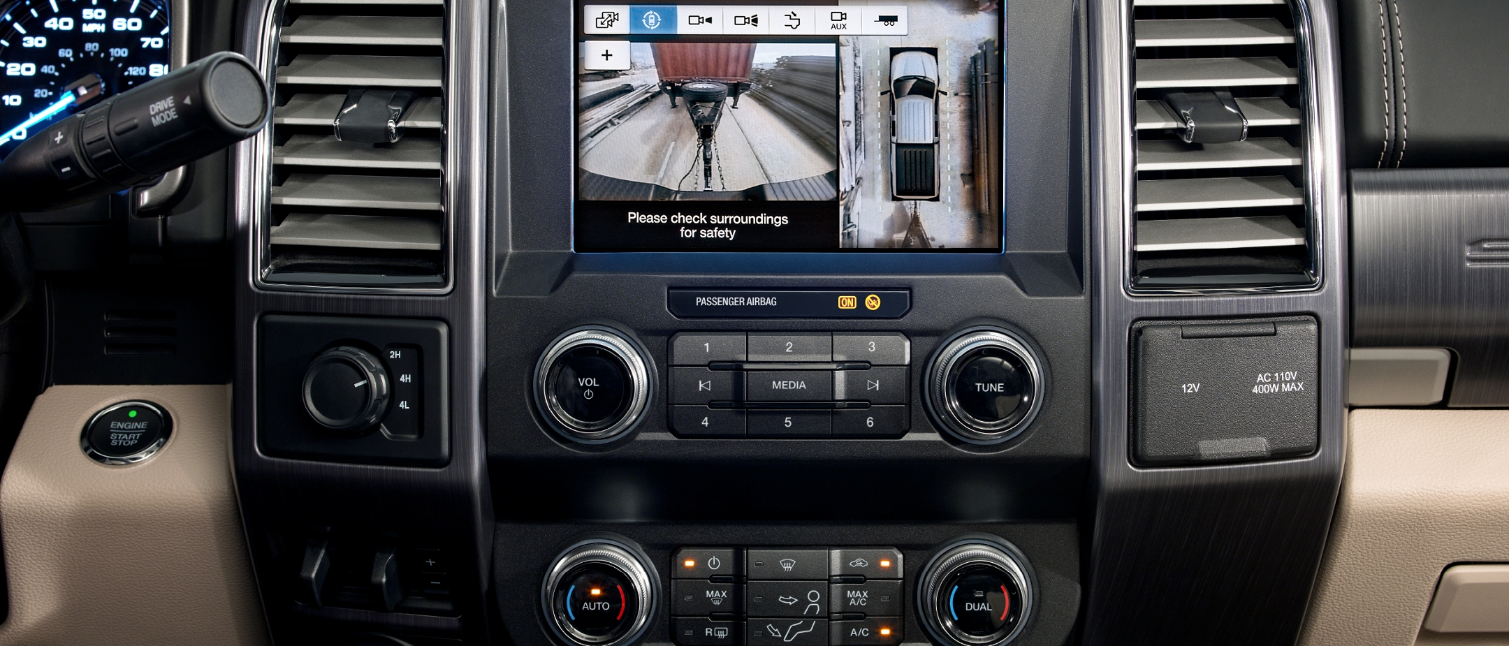 360 Degree Camera on the 2020 Super Duty