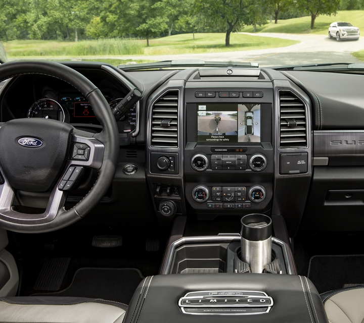 2020 Ford Super Duty F 4 50 Limited with Unique Limited Highland Tan Two Tone Interior