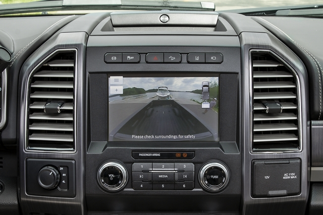 Interior shot of 2020 Ford Super Duty