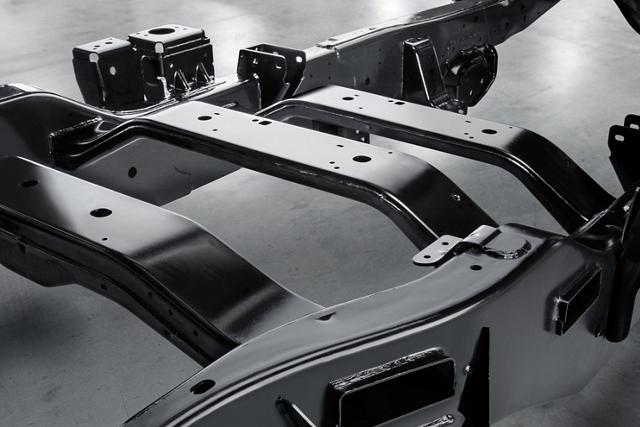 Bastidor de acero de alta resistenciacompletamente enmarcado de laFordSuper Duty2020
