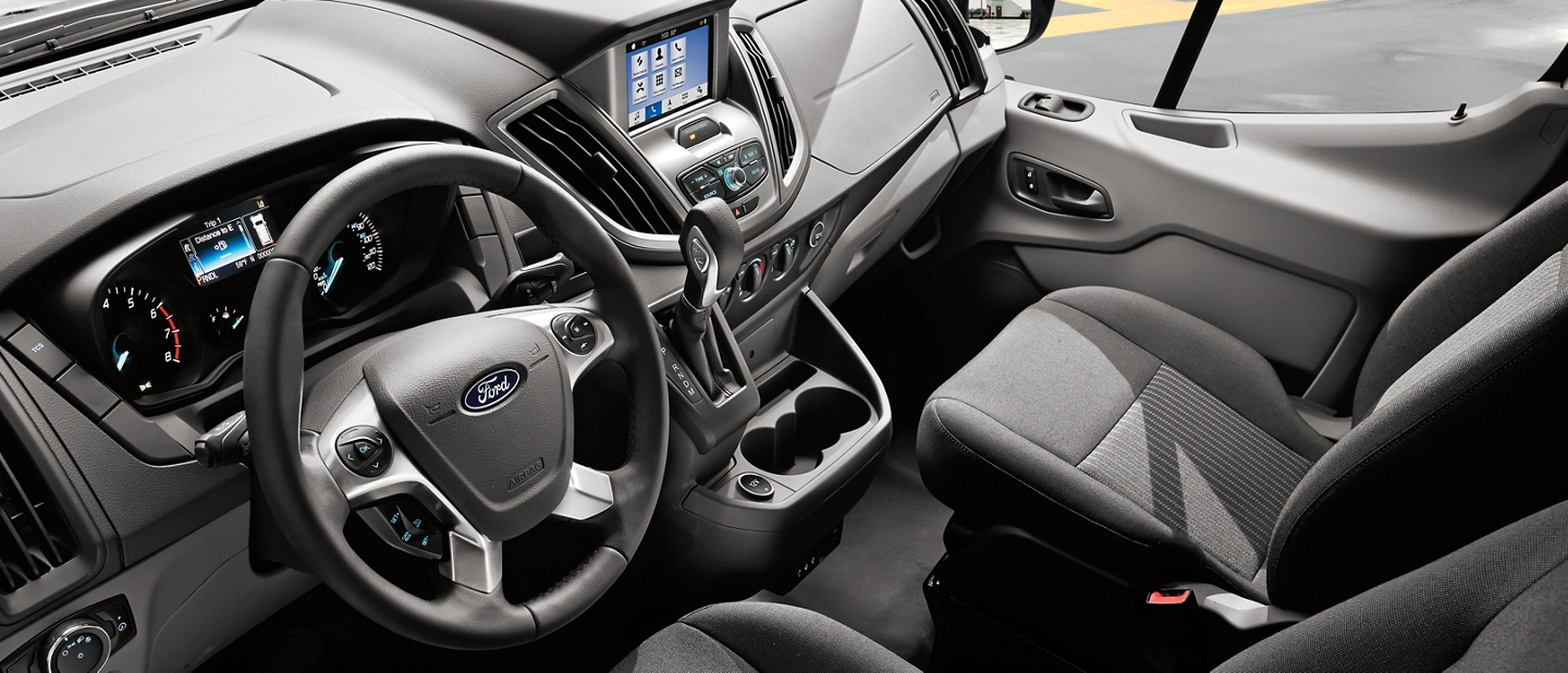 2020 Ford Transit interior
