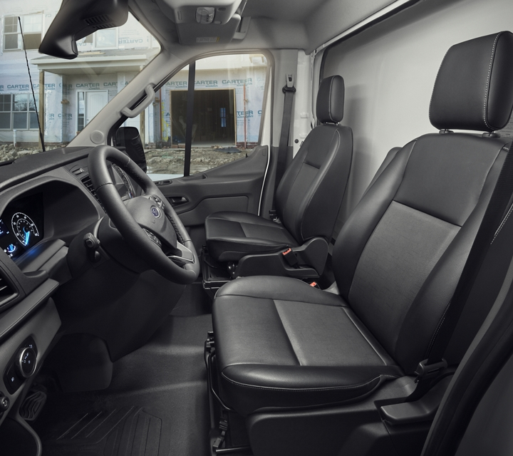 2020 Ford Transit Chassis Cab interior