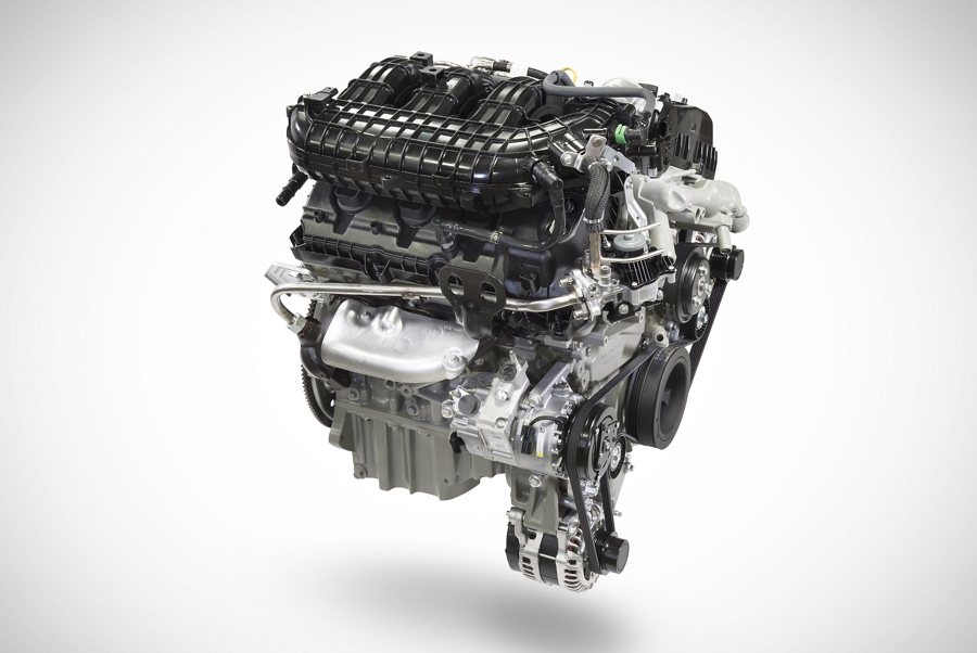 3 point 5 liter V6 engine