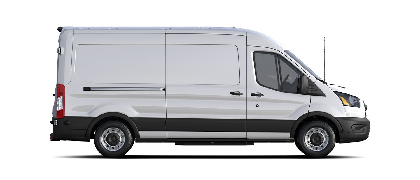 La Ford Transit 2020 en Oxford White