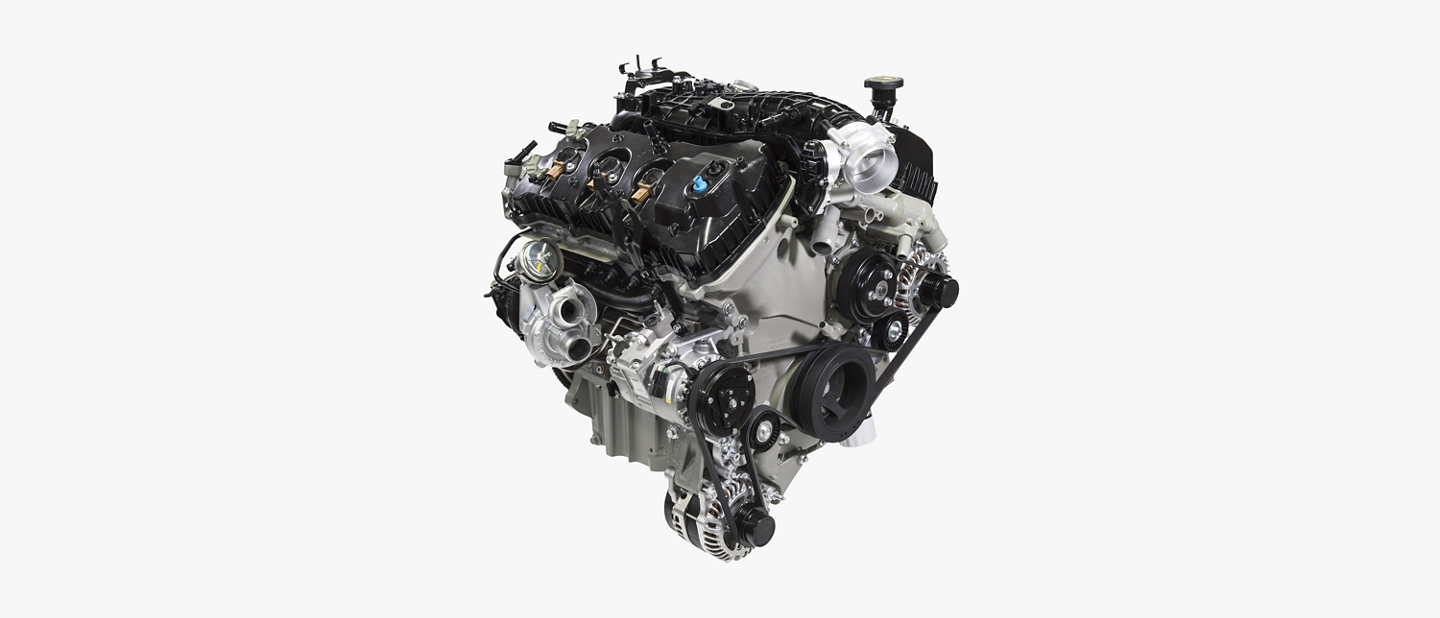 A three point five liter EcoBoost V 6 engine