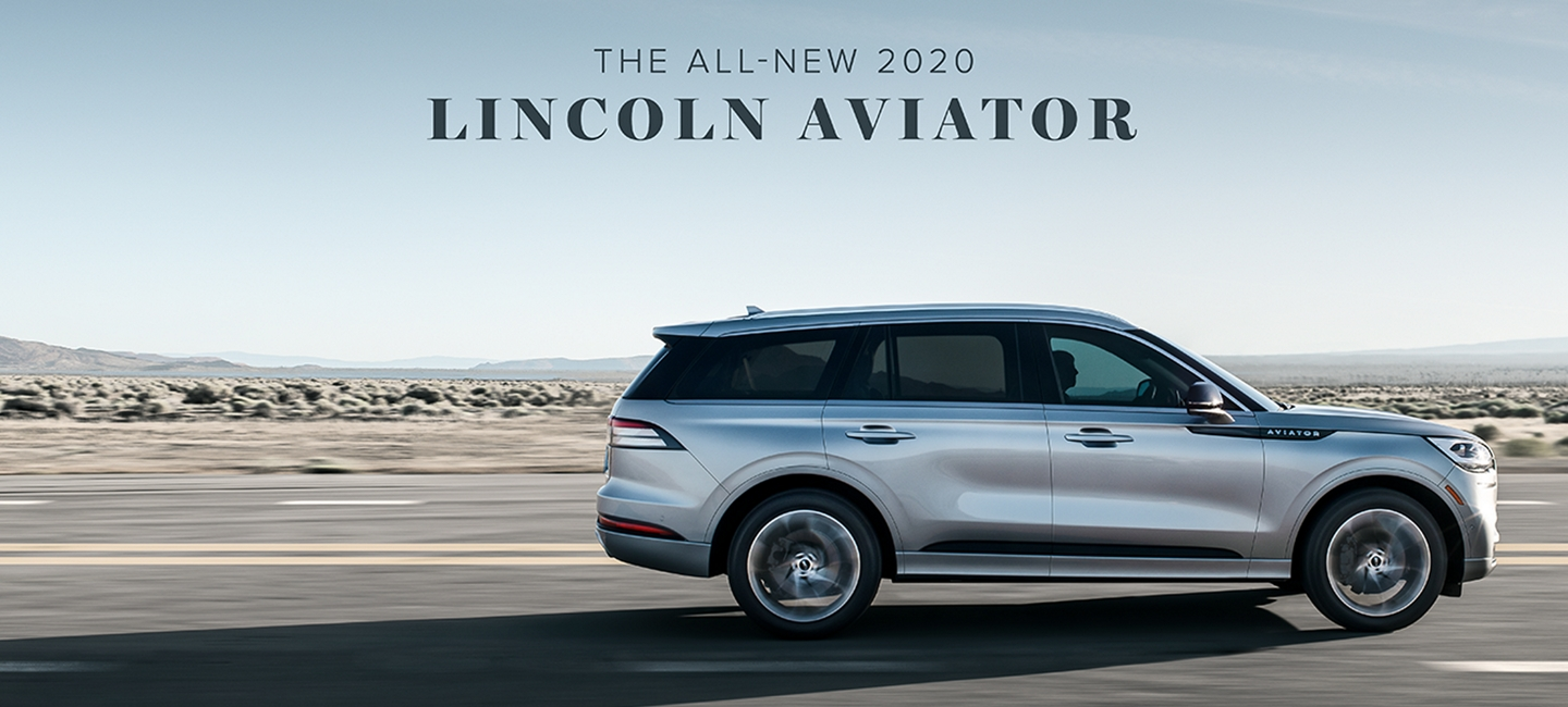 All New 2020 Lincoln Aviator Shown Here.