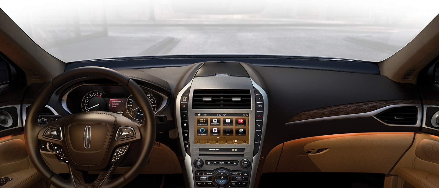Lincoln MKZ Interior shown here.
