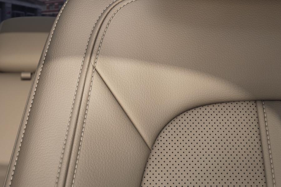 Imagen del cuero suave del asiento delantero del Lincoln M K Z 2020