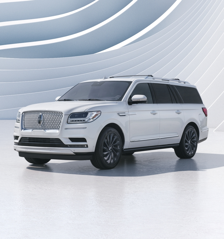 Navigator with Pristine White Monochromatic Exterior Package.